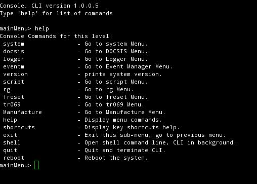 Remote code execution with Hitron CGNM-2250 | Easton's stuff